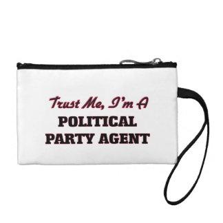 Confíe en que yo es un agente del fiesta político