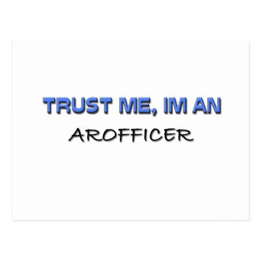 Confíe en que yo es un Arofficer Postales