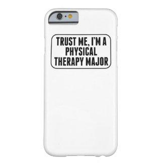 Confíe en que yo es un comandante de la terapia funda para iPhone 6 barely there