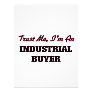 Confíe en que yo es un comprador industrial flyer a todo color