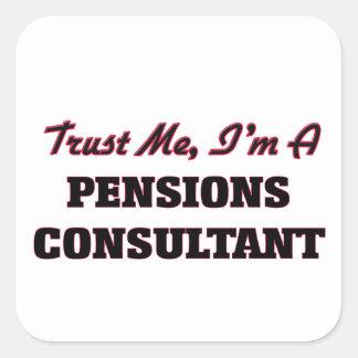 Confíe en que yo es un consultor de las pensiones colcomania cuadrada