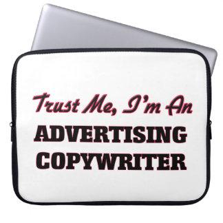 Confíe en que yo es un Copywriter de la publicidad Funda Ordendadores