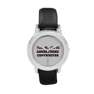 Confíe en que yo es un Copywriter de la publicidad Reloj De Mano