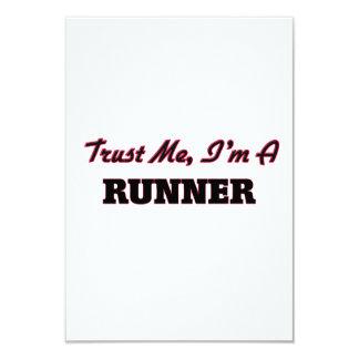 Confíe en que yo es un corredor
