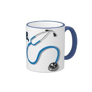 Confíe en que yo es un doctor Funny Mug Taza A Dos Colores