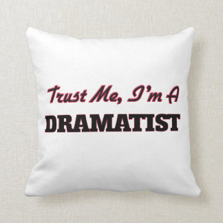Confíe en que yo es un dramaturgo almohada