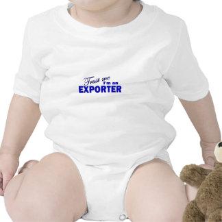 Confíe en que yo es un exportador camiseta