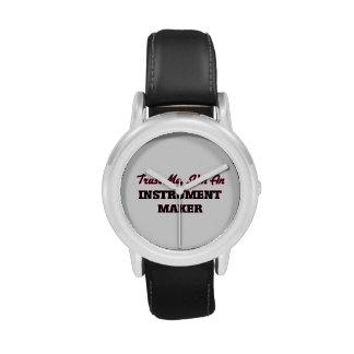 Confíe en que yo es un fabricante del instrumento relojes de mano
