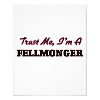Confíe en que yo es un Fellmonger Flyer Personalizado