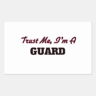 Confíe en que yo es un guardia rectangular altavoz