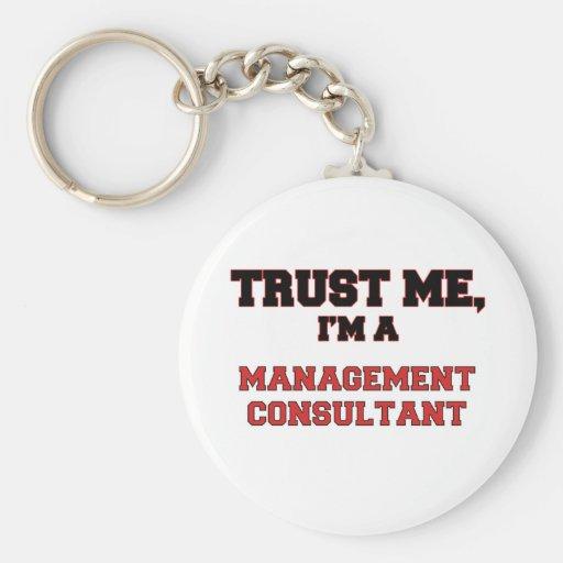 Confíe en que yo es un mi consultor en administrac llavero