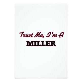 Confíe en que yo es un Miller Invitación