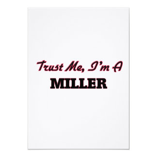 Confíe en que yo es un Miller Anuncios