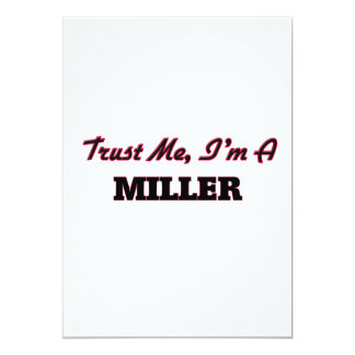 Confíe en que yo es un Miller Anuncio Personalizado