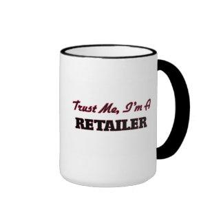 Confíe en que yo es un minorista tazas de café