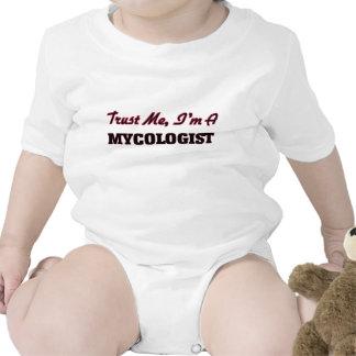 Confíe en que yo es un Mycologist Traje De Bebé