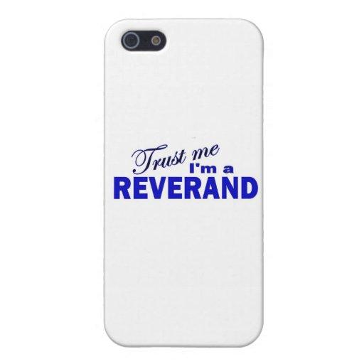 Confíe en que yo es un Reverend iPhone 5 Protectores