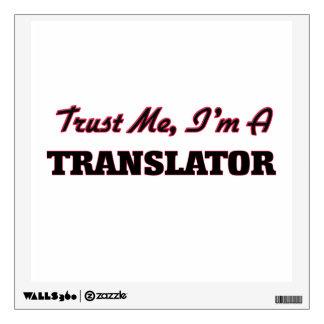 Confíe en que yo es un traductor