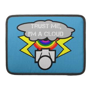 Confíe en que yo es una nube fundas para macbooks