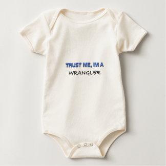 Confíe en que yo es Wrangler Trajes De Bebé