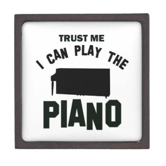 Confíe en que yo puede jugar el PIANO Caja De Regalo De Calidad