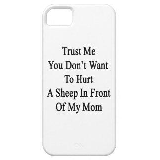Confíe en que yo que usted no quiere dañar una ove iPhone 5 cárcasa