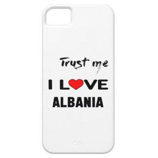 Confíeme en amor Albania de I iPhone 5 Carcasa