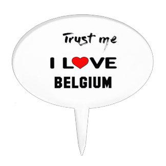 Confíeme en amor Bélgica de I Decoraciones Para Tartas