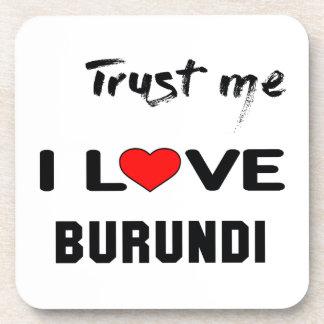 Confíeme en amor Burundi de I Posavasos De Bebida