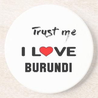 Confíeme en amor Burundi de I Posavasos Manualidades