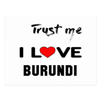 Confíeme en amor Burundi de I Postal
