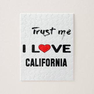 Confíeme en amor CALIFORNIA de I Puzzle
