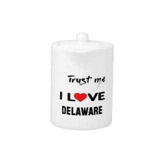 Confíeme en amor DELAWARE de I