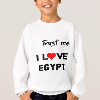 Confíeme en amor Egipto de I Sudadera
