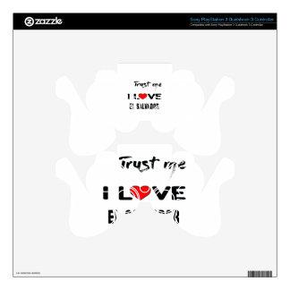 Confíeme en amor El Salvador de I. Calcomanía Para Mando PS3