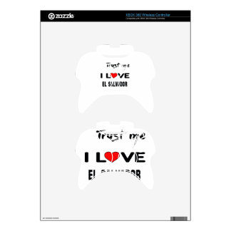 Confíeme en amor El Salvador de I. Mando Xbox 360 Skins