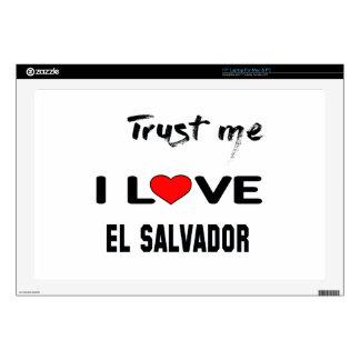 Confíeme en amor El Salvador de I. Skins Para 43,2cm Portátil