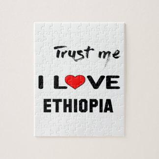 Confíeme en amor Etiopía de I Puzzle