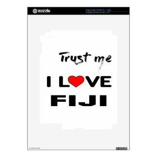 Confíeme en amor Fiji de I Calcomanía Para iPad 2