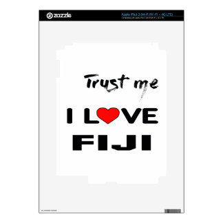 Confíeme en amor Fiji de I Pegatinas Skins Para iPad 3
