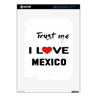 Confíeme en amor México de I Pegatina Skin Para iPad 3