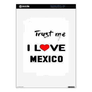 Confíeme en amor México de I Skin Para El iPad 2