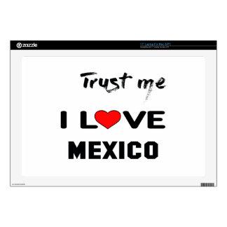 Confíeme en amor México de I Skins Para Portátiles