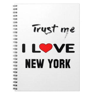 Confíeme en amor NUEVA YORK de I. Libreta Espiral