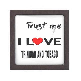 Confíeme en amor Trinidad and Tobago de I. Cajas De Regalo De Calidad