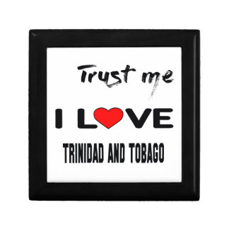 Confíeme en amor Trinidad and Tobago de I. Joyero Cuadrado Pequeño