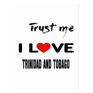 Confíeme en amor Trinidad and Tobago de I. Postales