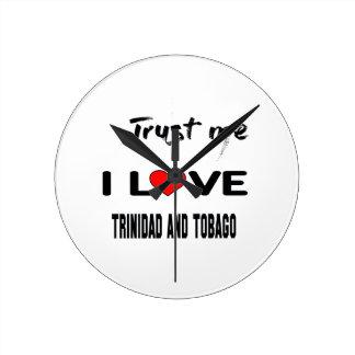 Confíeme en amor Trinidad and Tobago de I. Reloj Redondo Mediano