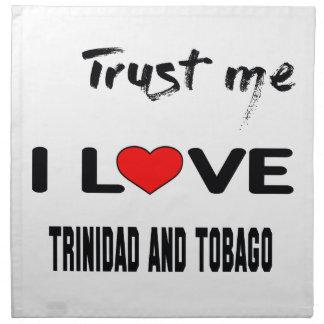 Confíeme en amor Trinidad and Tobago de I. Servilleta De Papel