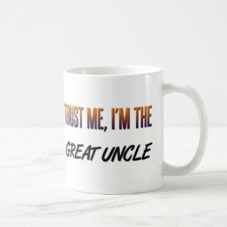 Confíeme en gran tío taza clásica